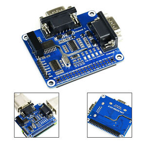 2-Ch Isolated Rs232 Expansion Hat Pour Raspberry Pi Sc16Is752+Sp3232 Solution FR