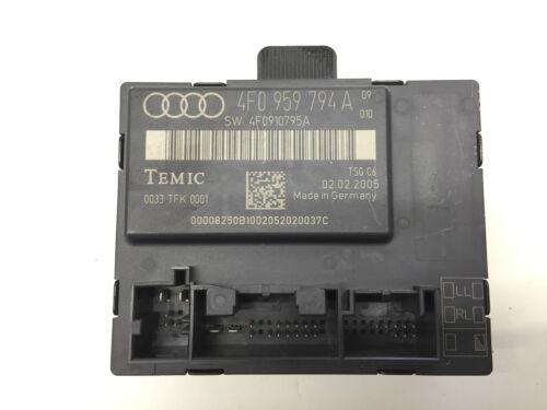 AUDI A6 C6 REAR RIGHT DOOR CONTROL MODULE 4F0959794A