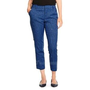 ec52e632202 Image is loading Womens-Merona-Classic-Fit-Plaid-Ankle-Pants-NWOT-