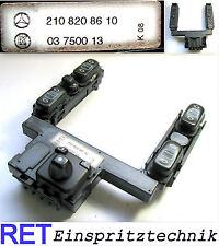Schalterkonsole 2108208610 Mercedes Benz E Klasse W 210 original Schalterleiste