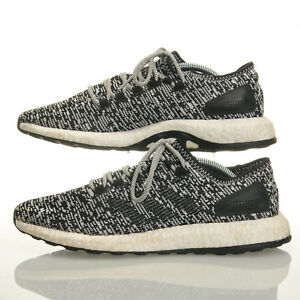 65c0ffd810ac8 Adidas Pure Boost Black White Oreo Running Shoes - Mens Size 10 ...