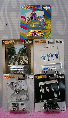 2019 Hot Wheels Pop Culture 5 Car Set The Beatles