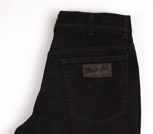 Wrangler-Hommes-Texas-Extensible-Slim-Jeans-Jambe-Droite-Taille-W32-L30-ARZ1021