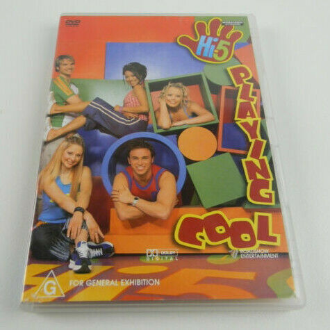 Hi-5 Playing Cool (DVD, 2004)
