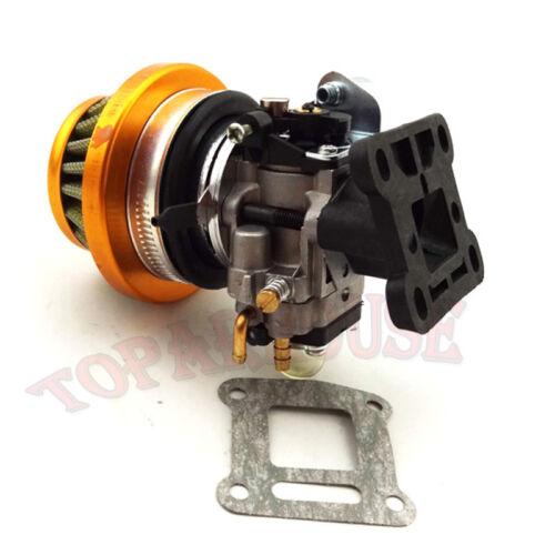 Racing Carburetor Air Filter Stack Kit For 47cc 49 cc Mini Moto ATV Pocket Bike