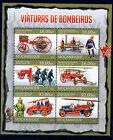 Sapeurs-Pompiers superbe bloc du Mozambique de 2013 neuf,3