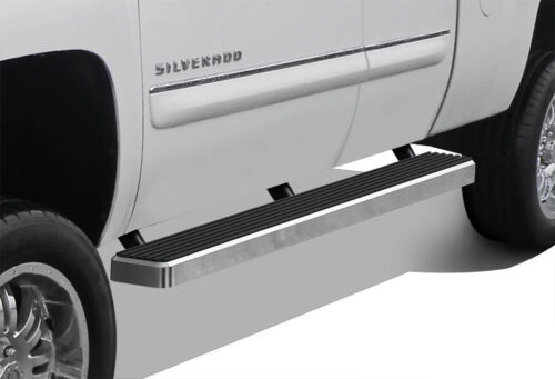"iBoard Running Boards 5/"" Fit 99-13 Chevy Silverado//GMC Sierra Double Cab"