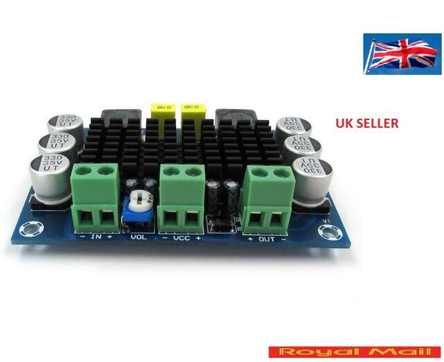 DC 12V 24V 100W TPA3116DA Mono Channel Digital Power Audio Amplifier Board