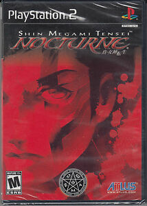 Shin-Megami-Tensei-Nocturne-PS2-Sony-PlayStation-2-Brand-New-Sealed