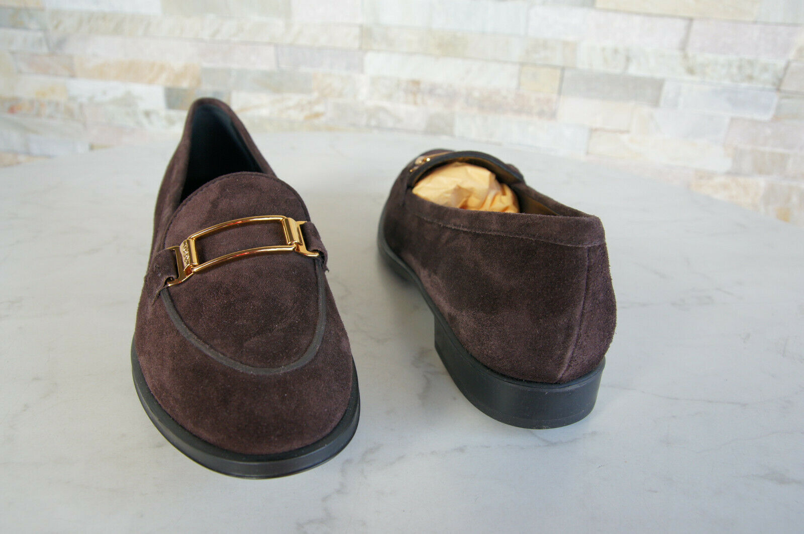 Tods Tod Tod Tod ´S 36,5 Slipper shoes Loafers shoes Dark Brown New Formerly Rrp 78e4a6