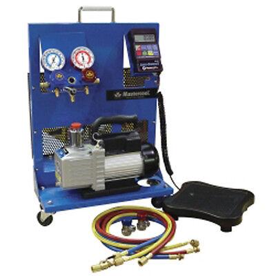 Mastercool 91580-B Single Stage Portable Evacuation/Electronic Charging Station