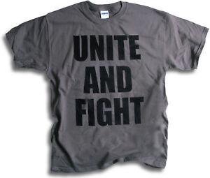 Revolution-Anarchy-Mens-T-Shirt-Unite-amp-Fight-Sm-3XL