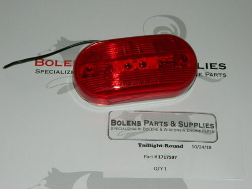 1717597 Bolens Tubeframe//Largeframe Tail Light 171-7597  Bolens 1050,850,1250