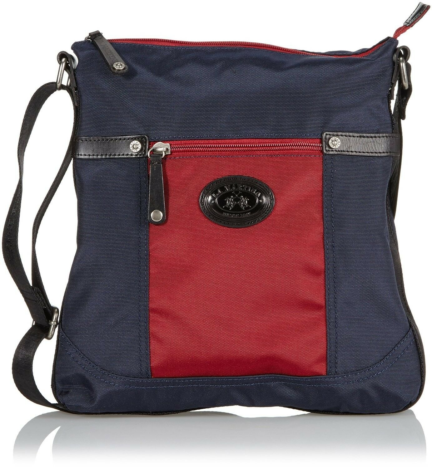 Messenger Bag shoulder strap La Martina Man Woman Men New Riding bluee