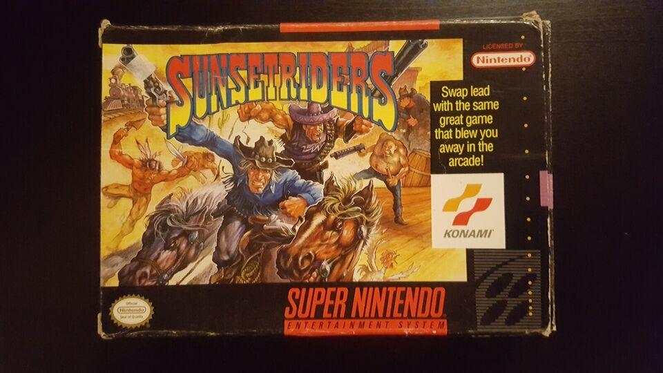 Sunset Riders, Super Nintendo