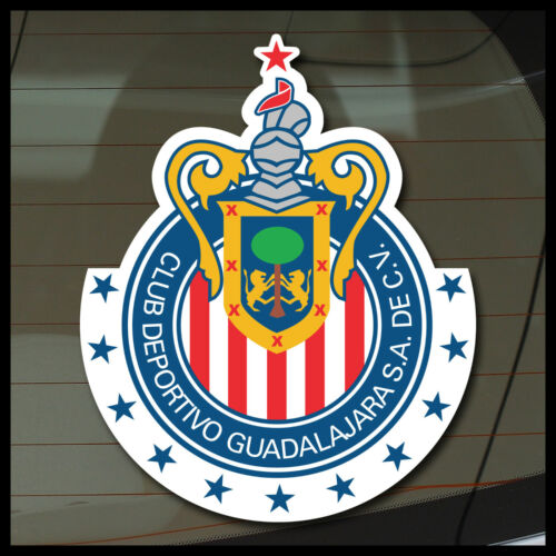 Club chivas rayadas del Guadalajara decal sticker futbol soccer xolos pumas