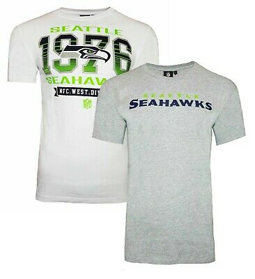 NFL Seattle Seahawks T Shirt Mens ALL SIZES Official NFL Team Apparel Jersey