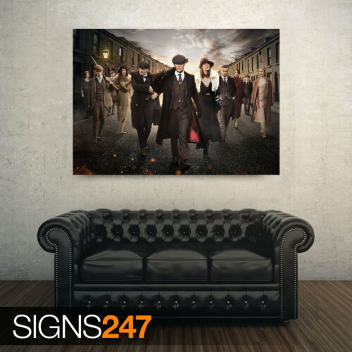 TV POSTER Photo Poster Print Art PEAKY BLINDERS POSTER ZZ067 All Sizes