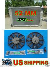 1997-2004 FORD MUSTANG GT/SVT V8 4.6L/5.4L ALUMINUM RACING RADIATOR + fan MT