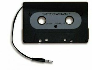 Scosche-Universal-Black-Cassette-Adapter-for-iPod-iPhone-Android-Smartphone-MP3