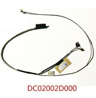 New Lenovo Yoga 510-15ISK Flex 4-1580 Flex 4-1570 LCD Video Cable DC02002D100