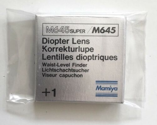 1 diopter lens for waist level Finder Mamiya m645//m645 Super