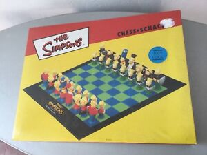 1999#matt Groening Official The Simpson Chess Schach Scacchi#nib Factory Sealed