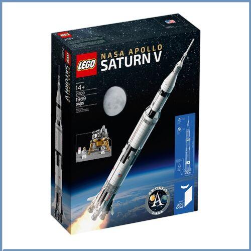 LEGO Ideas 21309 NASA Apollo Saturn V Rocket Ships in Box Brand New Sealed