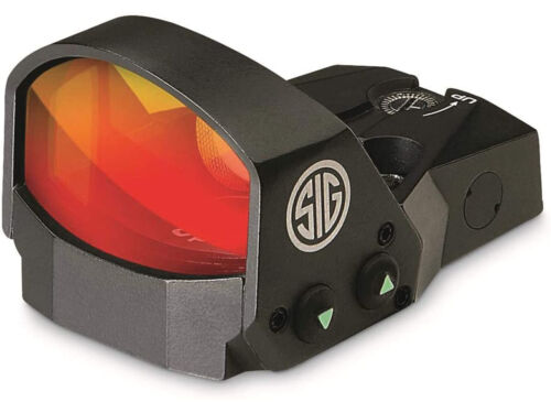 Black Sig Sauer ROMEO1 1X30mm Reflex Red Dot Sight 3 MOA Red Dot Reticle