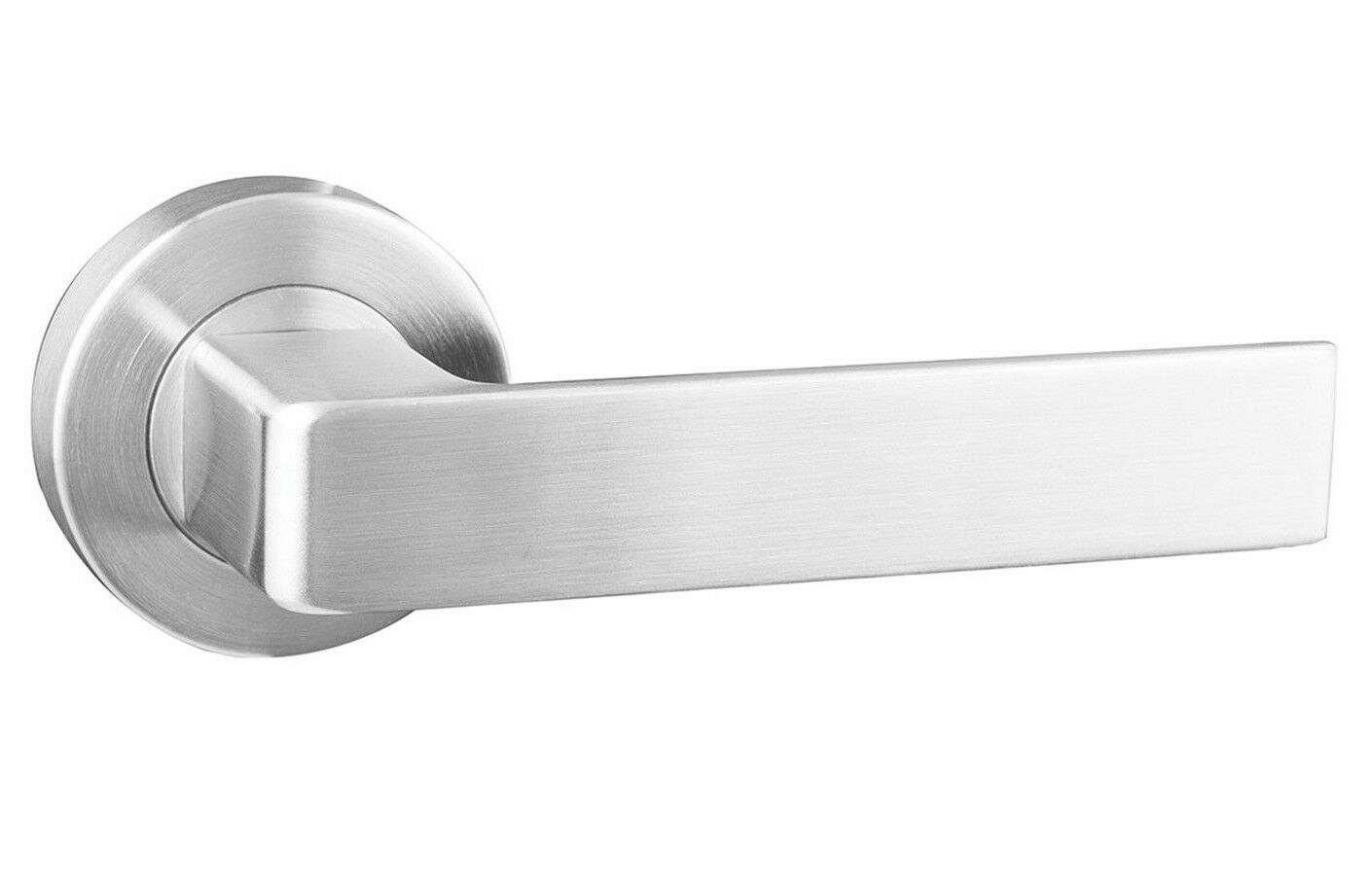 Schlage 7000-SERIES ANGELO PASSAGE LEVER Satin Stainless Steel USA Brand