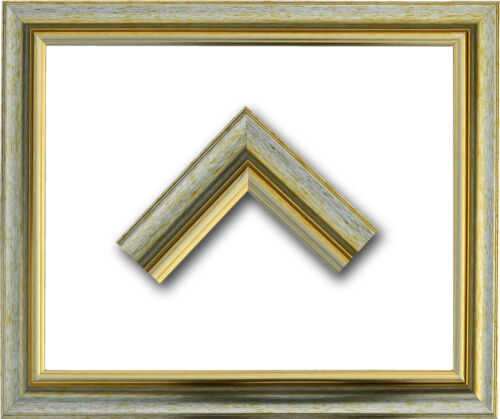 Massivholz-Bilderrahmen GLARUS 26 x 32 cm im Barock-Stil Mit Farbwahl.