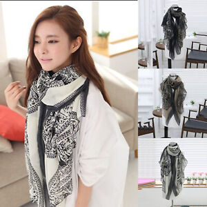 Women-Voile-Shawl-Scarf-Stole-Long-Floral-Soft-Scarves-Girl-Neck-Wrap-Xmas-Gift