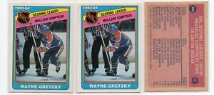 1X-WAYNE-GRETZKY-1984-85-O-Pee-Chee-380-NM-NMMT-opc-OILERS-Lots-Available-SL