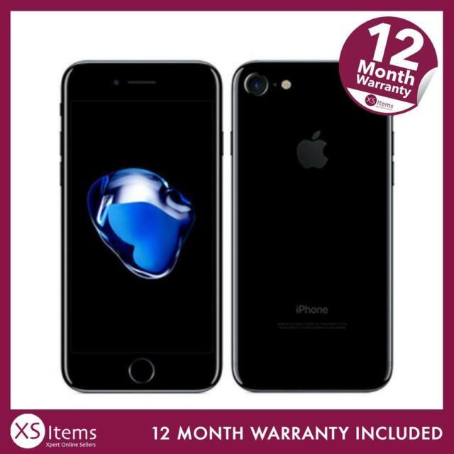 Apple iPhone 7 a1778 256gb iOS 12mp Handy Smartphone Jet Schwarz Entsperrt