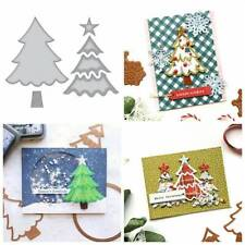 Lawn Fawn Die Combo OUTSIDE IN STITCHED CHRISTMAS TREE STACKABLES /& FRAMES ~1797