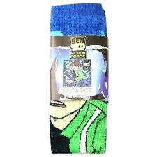 Kids Wash Cloth Flanel Ben 10 Alien Force Boys Face Body Bath Soft 100% Cotton