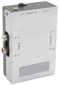 AV-Link-128-513-Turntable-Magnetic-Cartridge-Pre-Amplifier-Line-Input-Mains-New