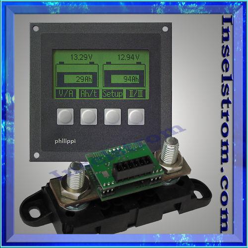 PHILIPPI  Batteriecomputer BCM BCM Batteriecomputer 1 m, Messwiderstand 300A ddf9ea