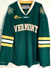 REEBOK Premier NCAA Jersey VERMONT Catamounts Team Green Alt 3rd sz XL