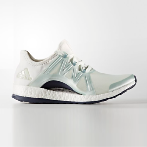 New Adidas Womens PUREBOOST X POSE WHITE   GREEN   GREY BB1732 US W 5 - 8 TAKSE