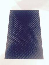 Plaque Carbone 110 mm x 110 mm épaisseur 2,5 MM
