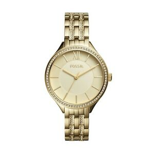 ORIGINAL-FOSSIL-Women-039-s-Ladies-Watch-Gold-Stainless-Steel-Suitor-BQ3117-36mm