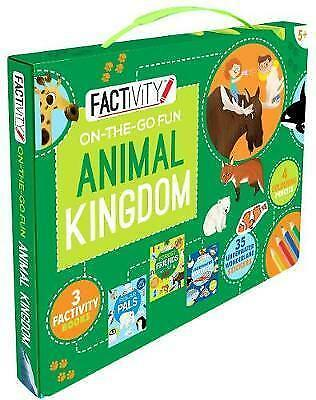 Factivity On-the-Go Fun Animal Kingdom, , New Book