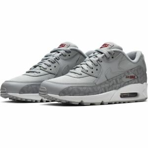 release info on nice cheap buy cheap Homme Femme Nike Air Max 90 Essential Gris/Rouge Baskets BQ4685 ...