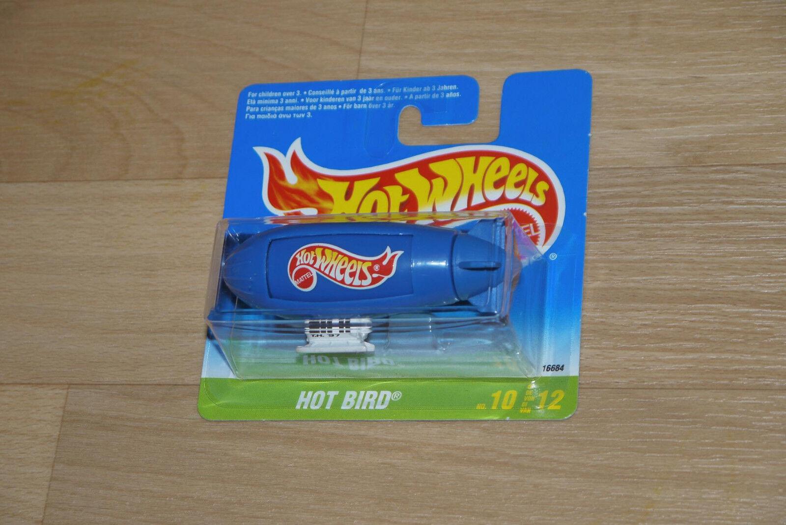 1997 Hot Wheels-Treasure Hunt-Blimp hot bird-short Coched-súper rara