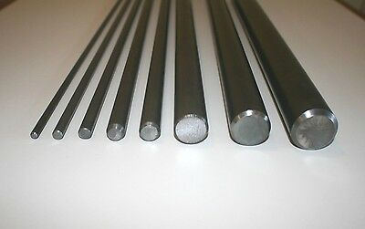 EN1A 250-3000mm Bright Mild Steel Round Bar 10mm to 100mm Rod