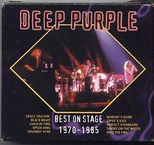 DEEP PURPLE - Best on stage 1970 - 1985 - BOX 3 CD 1994 OTTIME CONDIZIONI