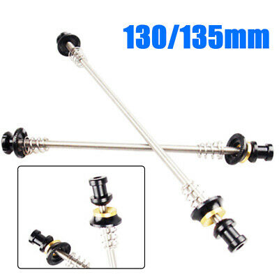 MTB Road Bike Wheel Locking Security Quick Release Skewers Anti Theft Skewer Set