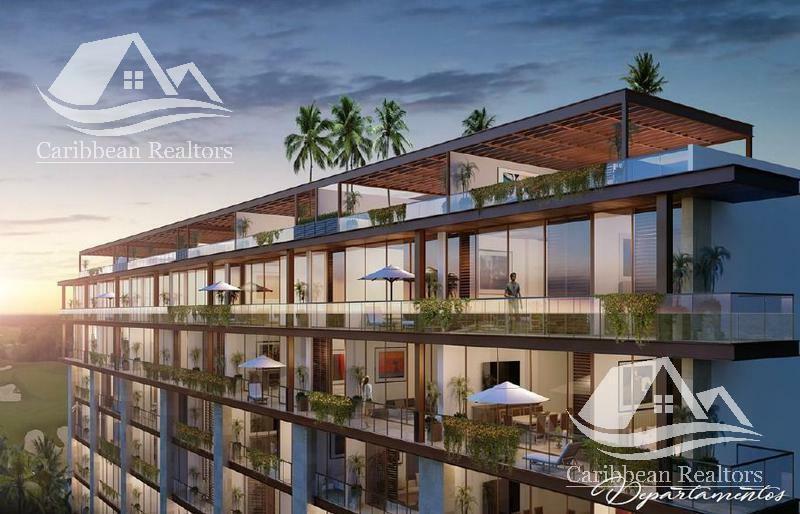 Departamento en Venta en Puerto Cancun/zona hotelera