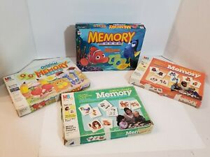 Memory-Game-Milton-Bradley-Finding-Nemo-Fronts-Backs-Original-Animal-Families